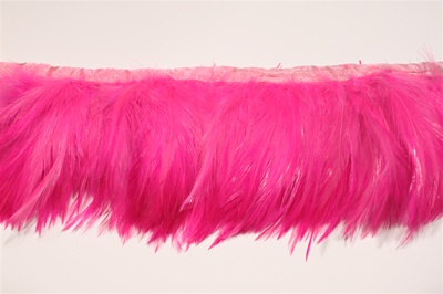 "FTT-ROO-101-PINK.  5.0""-wide Rooster Feather On Tape"