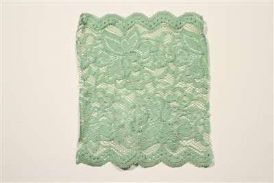 LST-REG-117-LIGHTGREEN.  Stretch Lace