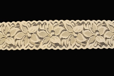 "LST-REG-215-YELLOW.  2.0""-wide Stretch Lace"