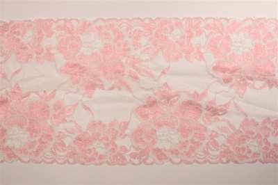 "LST-REG-616-PINK.  6.0""-wide Stretch Lace"