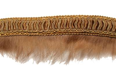 "FUR-FUR-102-CAMEL.  2.0""-wide Fur Tape"