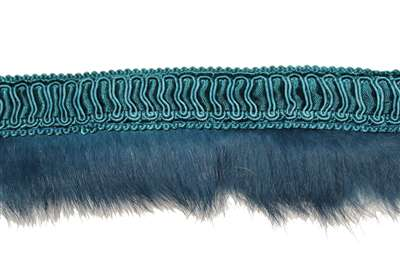 FUR-FUR-102-TEAL.  Fur on Tape