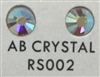 Flat Back / No-Glue Loose Crystal Rhinestone - AB Crystal