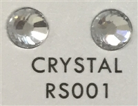 Flat Back / No-Glue Loose Crystal Rhinestone - Clear Crystal