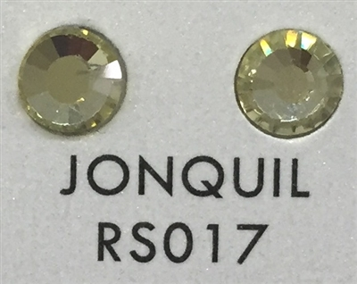 Premium Hot Fix Rhinestone - Jonquil