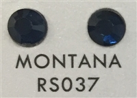 Flat Back / No-Glue Loose Crystal Rhinestone - Montana