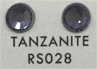 Premium Hot Fix Rhinestone - Tanzanite