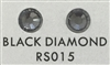 Low-Lead Machine Cut (MC) Hot Fix Rhinestone - Black Diamond