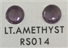 Low-Lead Machine Cut (MC) Hot Fix Rhinestone - Lite Amethyst