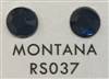 Low-Lead Machine Cut (MC) Hot Fix Rhinestone - Montana