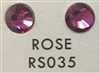 Low-Lead Machine Cut (MC) Hot Fix Rhinestone - Rose