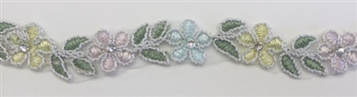 Bridal Lace with Beads - MULTI