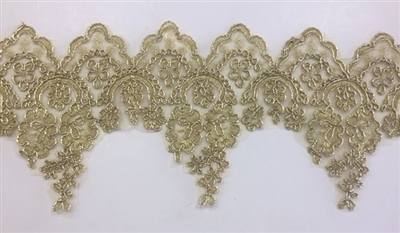 LNS-BBE-280-GOLD. BRIDAL LACE