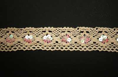"LNS-CRO-101.  1""-wide Crochet Lace"