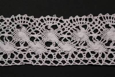 LNS-CRO-104-WHITE.  Crochet Lace