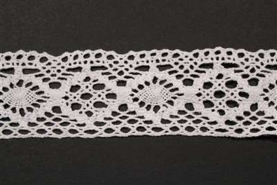 LNS-CRO-105-WHITE.  Crochet Lace