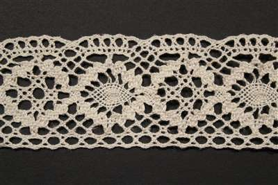 LNS-CRO-112-NATURAL.  Crochet Lace