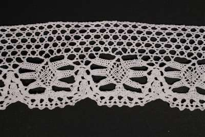 LNS-CRO-113-WHITE.  Crochet Lace