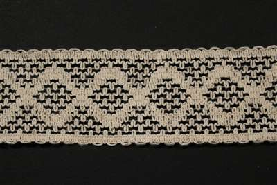 LNS-CRO-122-WHITE.  Crochet Lace