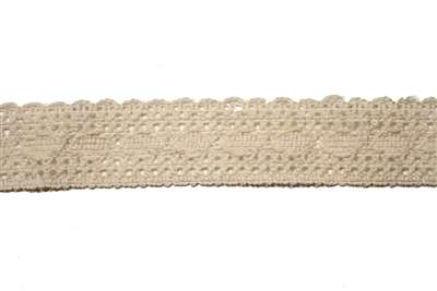 LNS-CRO-131-NATURAL.  Crochet Lace