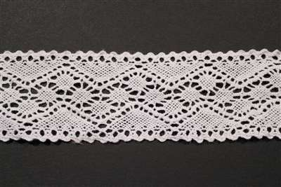 LNS-CRO-134-WHITE.  Crochet Lace