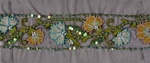 "LNS-EMB-108.  4.0""-wide Indian Handmade Embroidery"