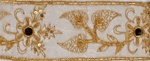 "LNS-EMB-113.  3.0""-wide Indian Handmade Embroidery"