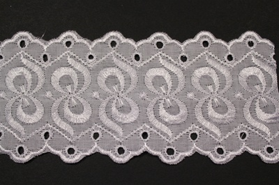 "LNS-EYL-108.   3.0""-wide Eyelet Lace"