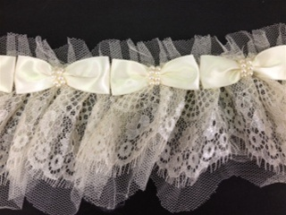 LNS-FLR-147-OFFWHITE.  NON-STRETCH FLORAL LACE