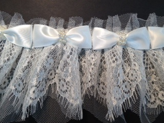 LNS-FLR-147-WHITE.  NON-STRETCH FLORAL LACE