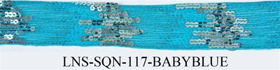 LNS-SQN-117.  Sequins Lace