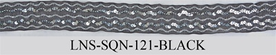 LNS-SQN-121.  Sequins Lace