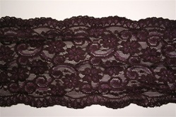 "LST-REG-610-PURPLE.  6.0""-wide Stretch Lace"