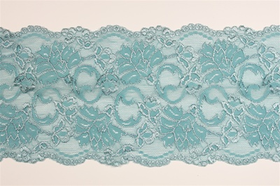 "LST-REG-612-BLUE.  6.0""-wide Stretch Lace"