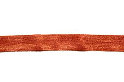 RBN-FOV-101-ORANGE.  Foldover Elastic - 5/8 INCH - Orange