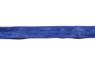 RBN-FOV-101-ROYALBLUE.  Foldover Elastic - 5/8 INCH - Royal Blue