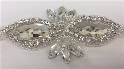 Wholesale crystal rhinestone appliques beads & embellishments